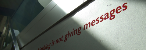 nothing is not giving messages