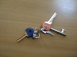 Charles Causley's keys