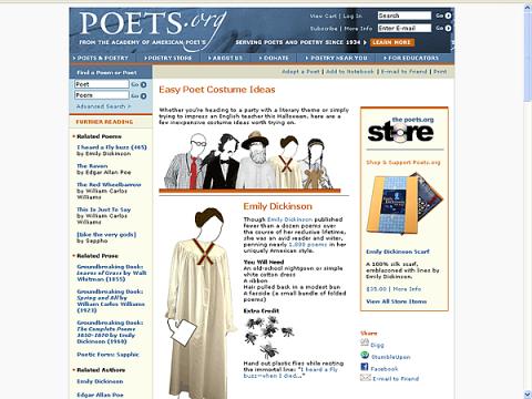 poet costumes